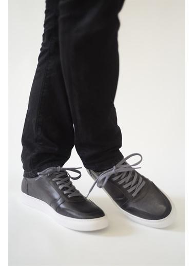 La scada Grı Erkek Casual Ayakkabı Tp2001 Gri
